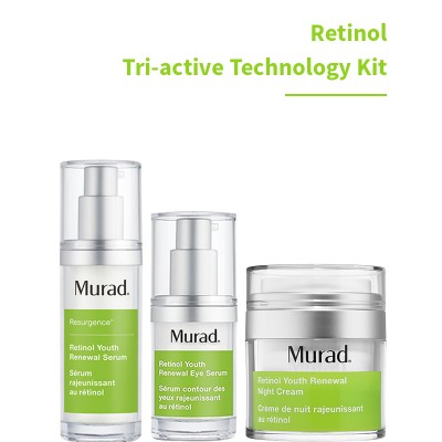 Bộ Kit  Murad Rentinol Tri-active Teachnology